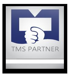 TMS Logoet placeret i en fane